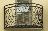 luxury wrought iron balcony railings, View balcony railing