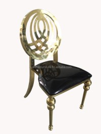 Hot Sale Rose Gold Infinity Wedding Chair Banquet Chairs ...