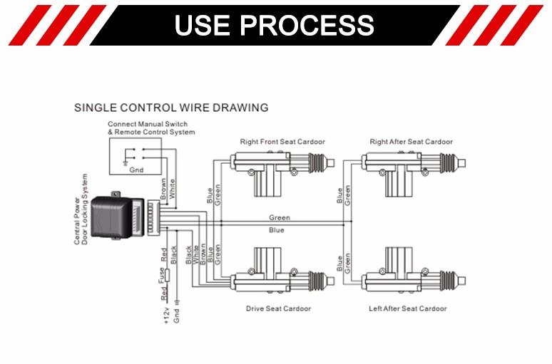 car alarm installation wiring diagram yamaha g22 gas golf cart 5 wire power door lock actuator from china - buy actuator,door lock,door ...