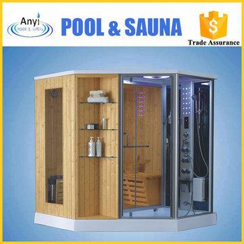 Cabina De Sauna Lei Wet U Dry Ducha De Vapor Sauna Ducha