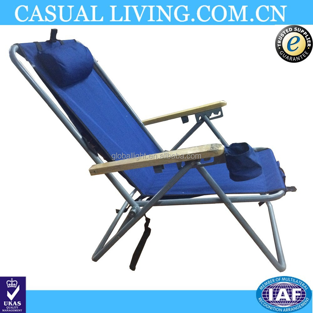 Portable Folding Reclining Beach Chair  Buy Beach Chair