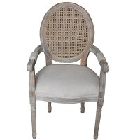 Round Back Louis Style Rattan Oval Chair - Buy Rattan Oval ...