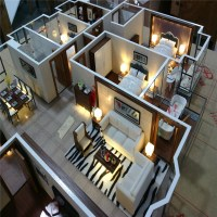 Architectural Scale Model Maker Of House Interior Layout ...