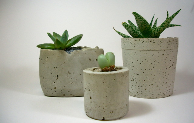Outdoor And Indoor Pots Concrete Pots Indoor Plant Holder New Product