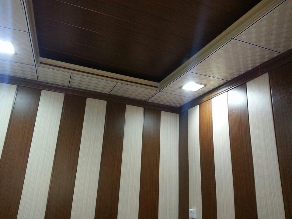 Hot Sale Waterproof Bathroom Wooden Wall Panel
