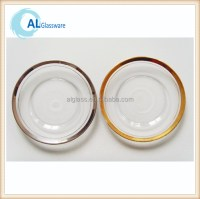 List Manufacturers of Gold Rim Glass Charger Plates, Buy