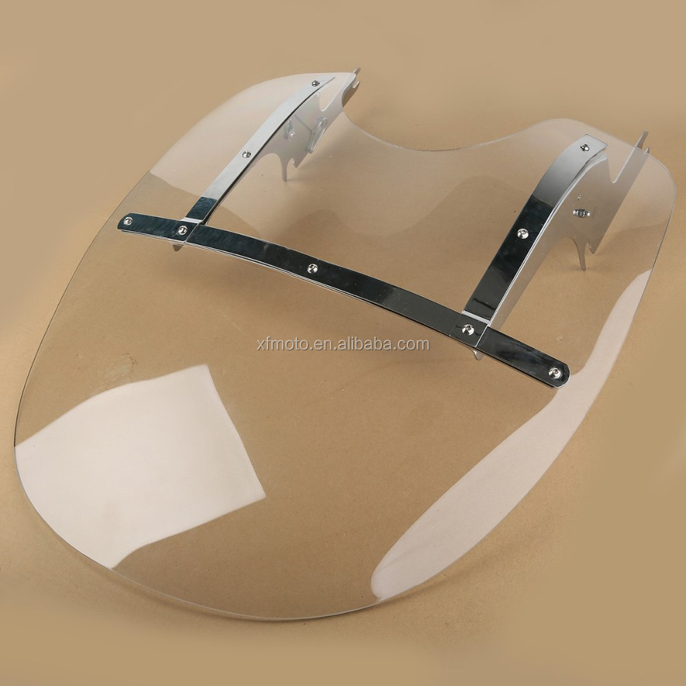 hight resolution of detachable windshield windscreen for davidson road king flhr 1994 2018
