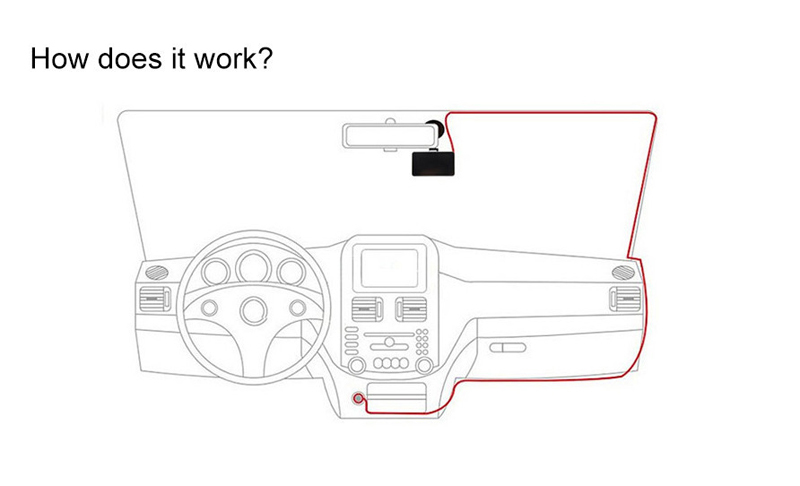 New 2.7 Inch Dash Cam Recorder Full Hd 1080p Car Dvr