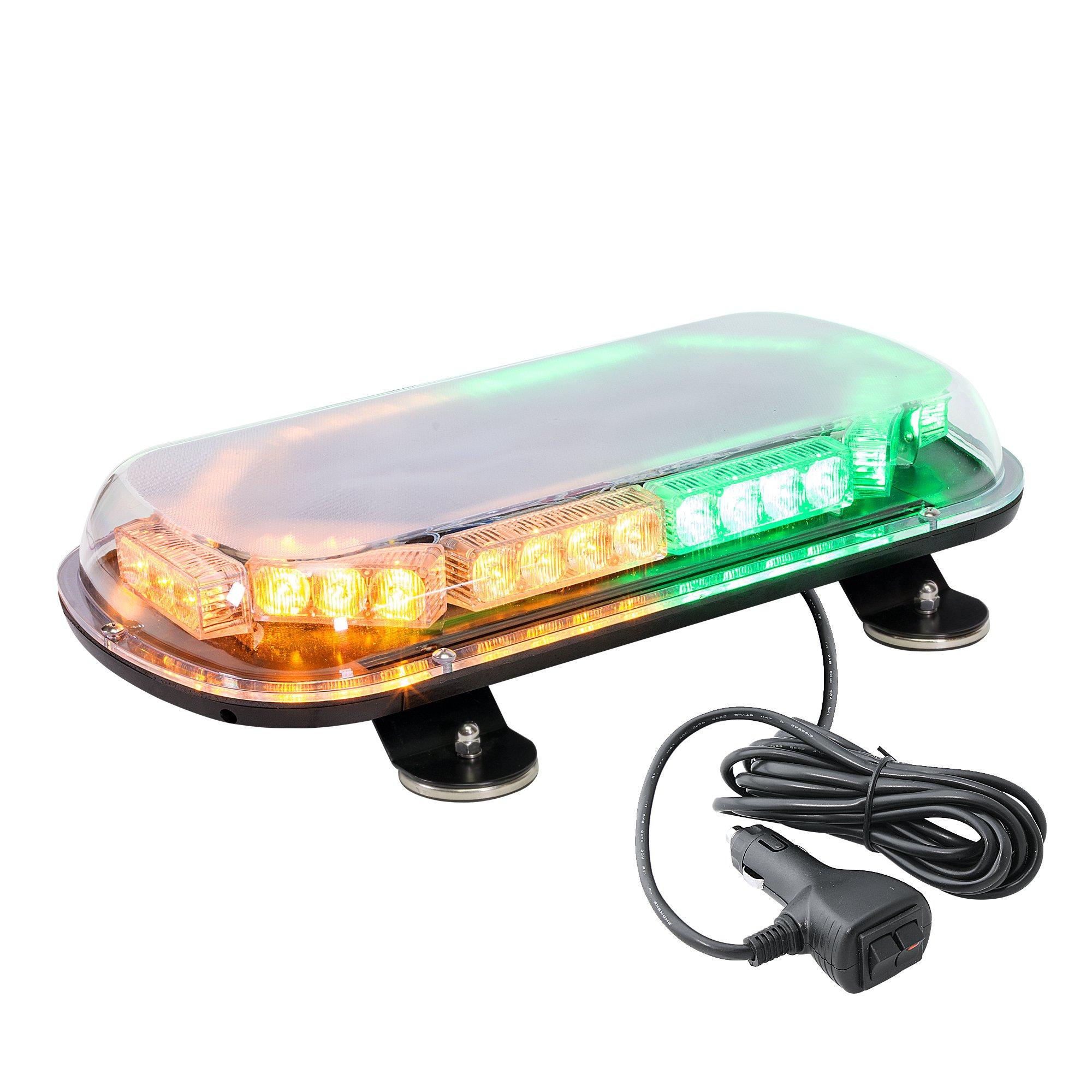 hight resolution of lamphus solarblast 34w led construction tow truck security patrol vehicle strobe warning mini light bars