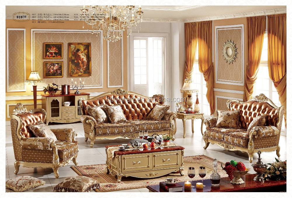 classic living room chairs l shaped sets euroean style sitting furniture sofa turkey