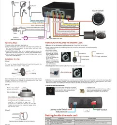 rfid engine switch push button start stop system with intelligent ignition [ 1000 x 1414 Pixel ]
