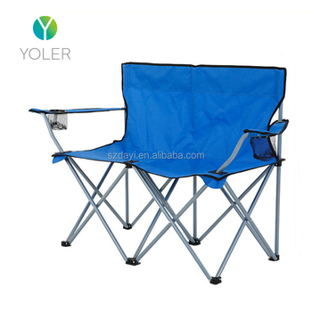 double seat folding chair hanging for baby yoler cheap promotion metal buy chairs product on alibaba com