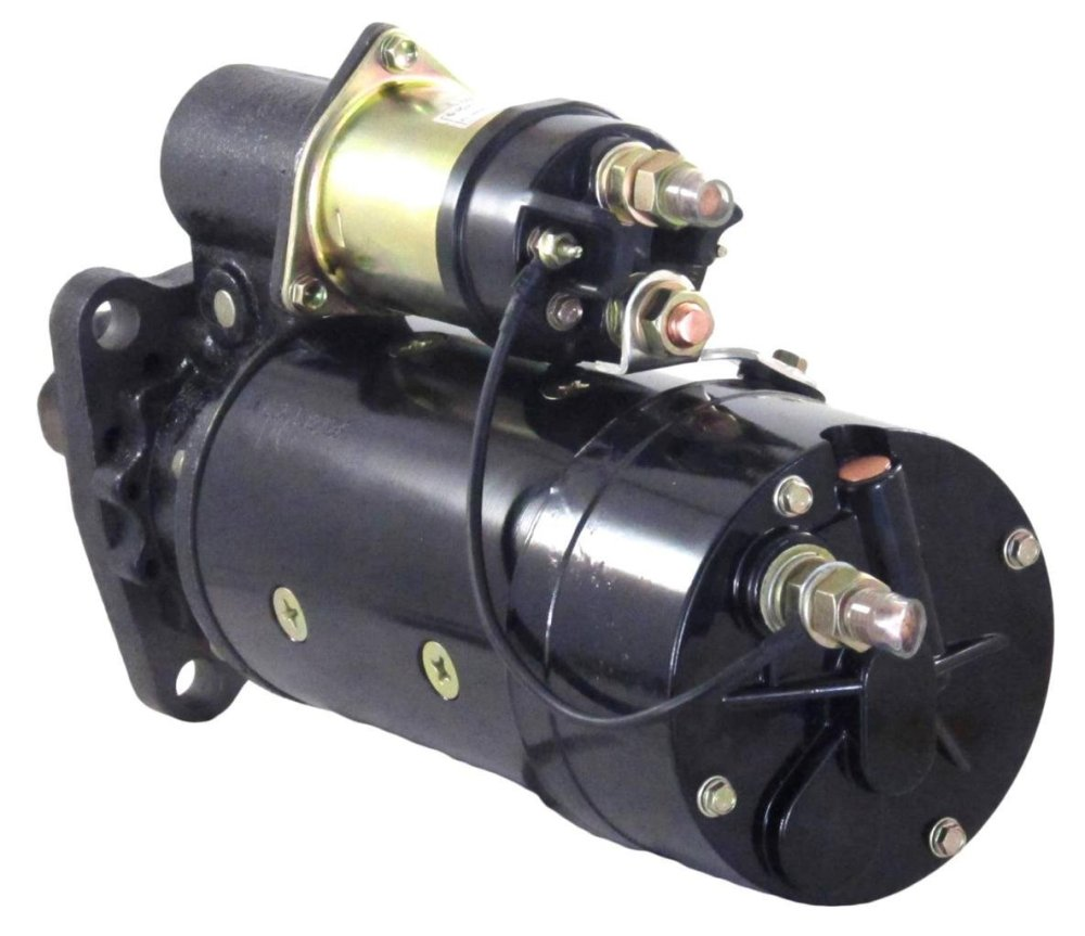 medium resolution of new 12v 12t cw starter motor fits 85 95 fits caterpillar marine engines 3208 cat