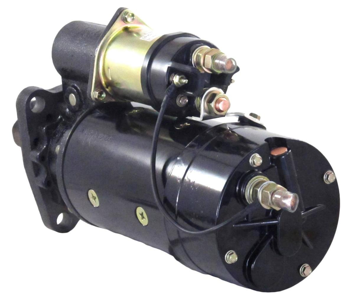 hight resolution of new 12v 12t cw starter motor fits 85 95 fits caterpillar marine engines 3208 cat