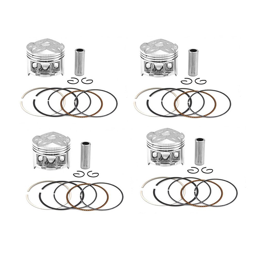Buy AHL 4 Sets Motorcycle Engine Parts Pistons & Piston