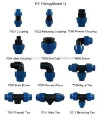 Water Supply Pe Pipe Fitting Plug - Buy Pe Pipe Fitting ...