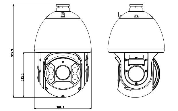 Hdcvi Sd6c120i-hc Dahua Dome Ir Ptz Camera With Ultra Dnr