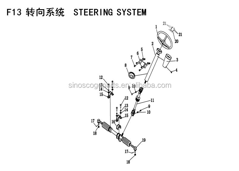 Gear Box For Xy300utv,Xy300utv Rear Differential,Xinyang