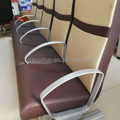 Marine Deck Chairs Swing Chair Qatar Aluminum High Back Folding Passenger Double Seat For Boat