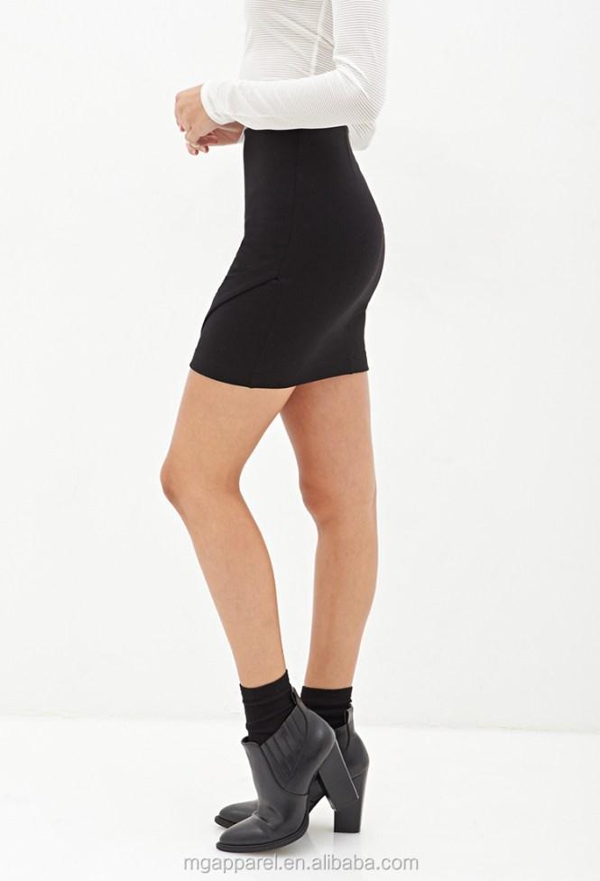 Tight Short Black Skirt - Dress Ala