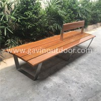 Stainless Steel Garden Bench Wood Bench Seat - Buy Wood ...