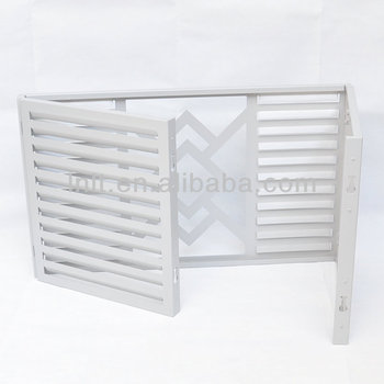 Decorative Wall Covering Panels Aluminum Window Louver