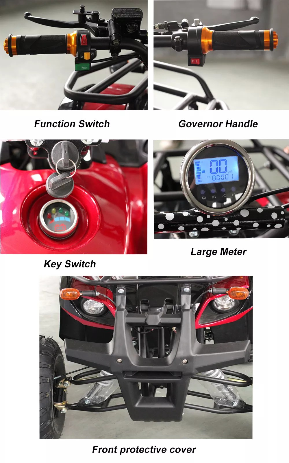 Adult Electric Quad Bike : adult, electric, Newest, 3000w, Adult, Electric, Legal, Bikes, 4x4,Quad, Bikes,Newest, Product, Alibaba.com