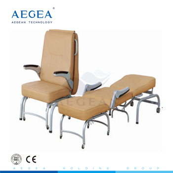hospital sleeper chair joie ollie owl high ag ac005 medical furniture foldable used chairs