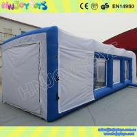 Inflatable Spray Paint Booth Tent Furniture Spray Booth