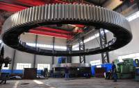 Cast Iron Large Diameter Ring Gear On Grinding Mill ...