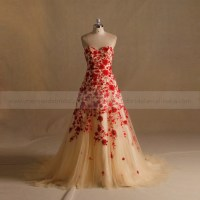Red And Gold Wedding Dresses | www.pixshark.com - Images ...