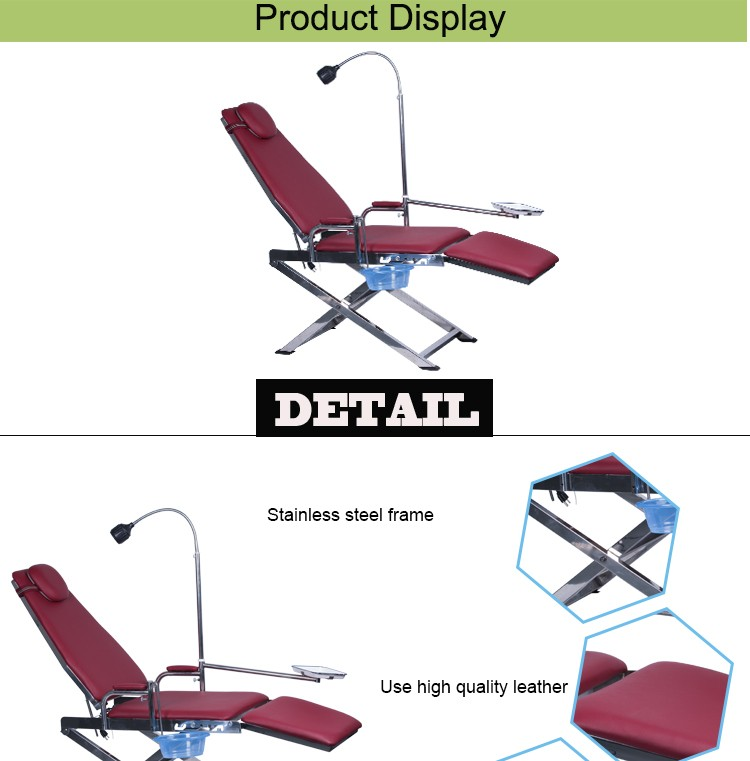 portable dental chair philippines hook on table high australia foldable buy