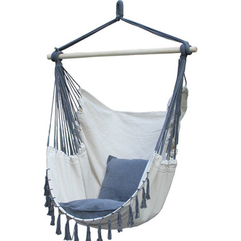 hanging chair swing oak dining room table and chairs durable canvas hammock for backpacking garden hiking portable ultralight safety hamaca hamak