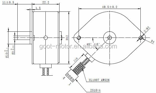 24 v 42mm stepping motor feeder motor conveyor motor, View