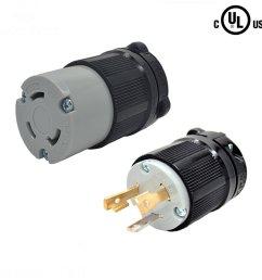 yuadon ul listed 125 volt 30 amp nema l5 30 sets nema [ 1000 x 1000 Pixel ]