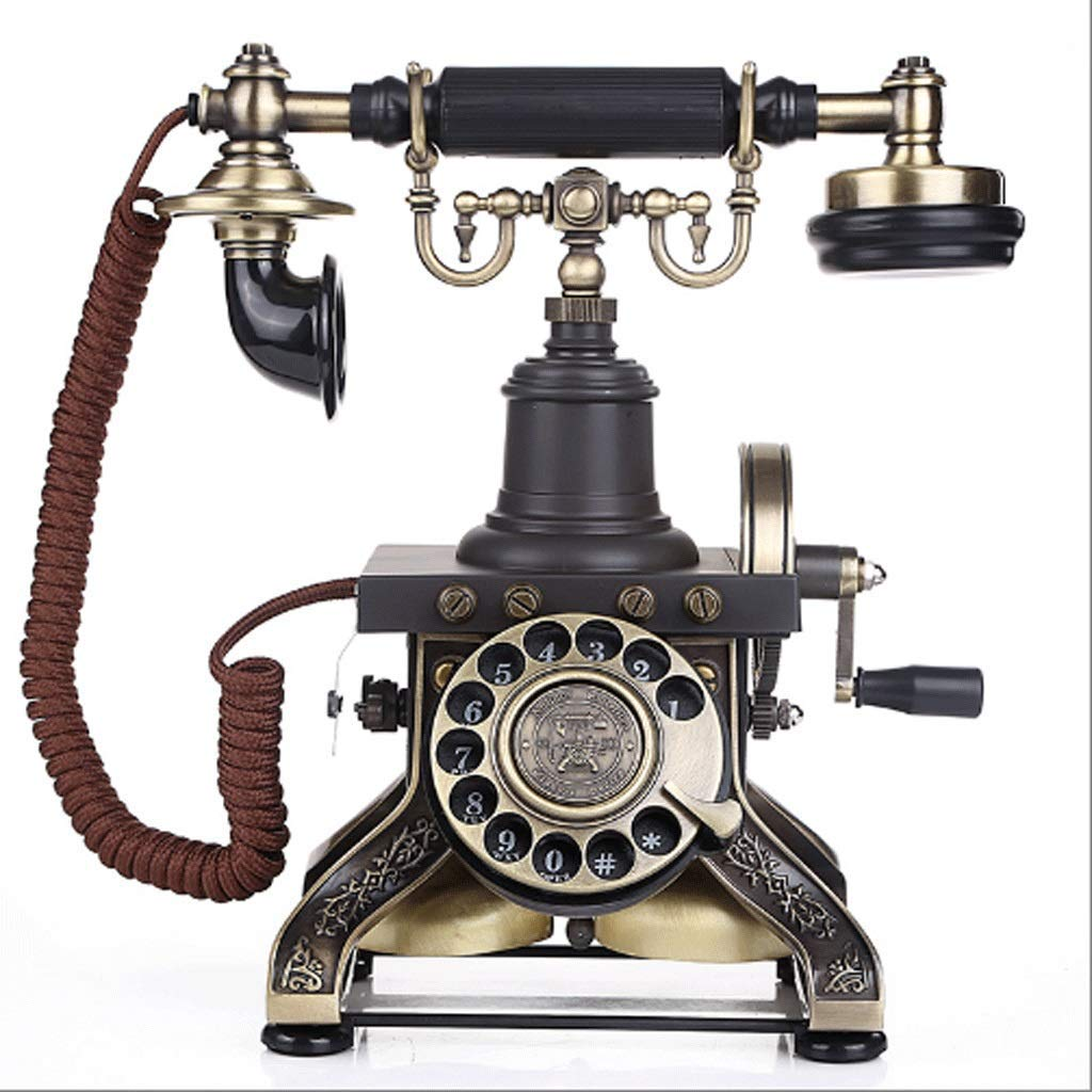 hight resolution of get quotations ccf antique telephone classic rotating dial mechanical ringtone home phone itmth color rotary dialing