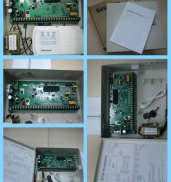 alarm control panel for burglar alarm system admco 4 and cid [ 1000 x 1204 Pixel ]