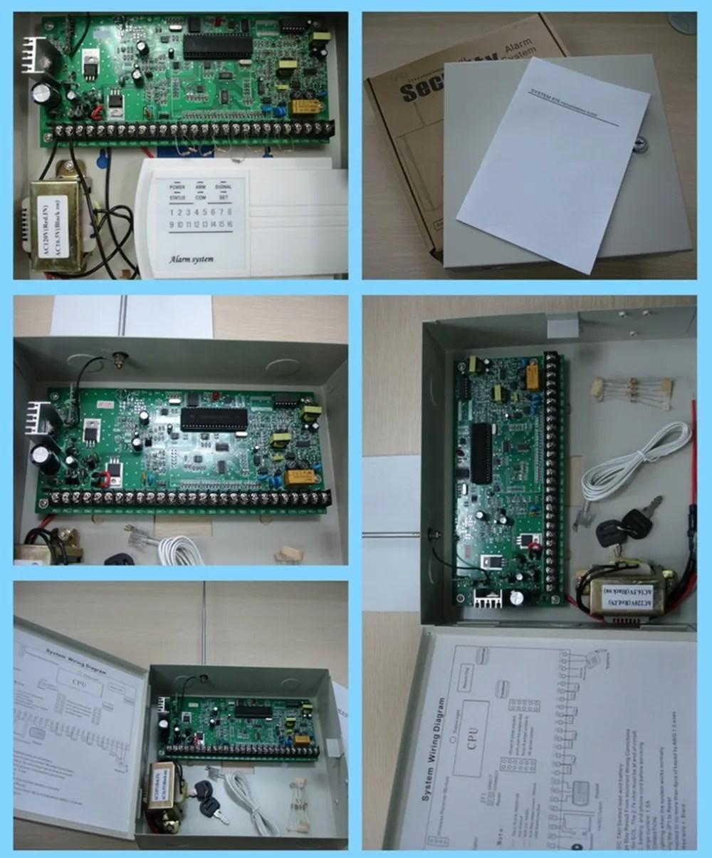 hight resolution of alarm control panel for burglar alarm system admco 4 and cid