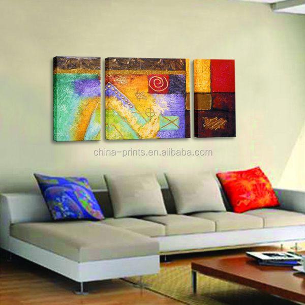 Modern Abstract Painting Printing Art