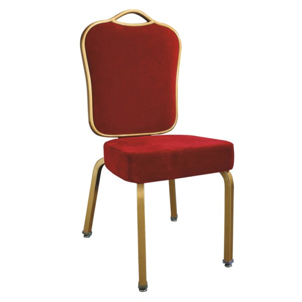 Red Chair Coat Aluminum Iron Frame