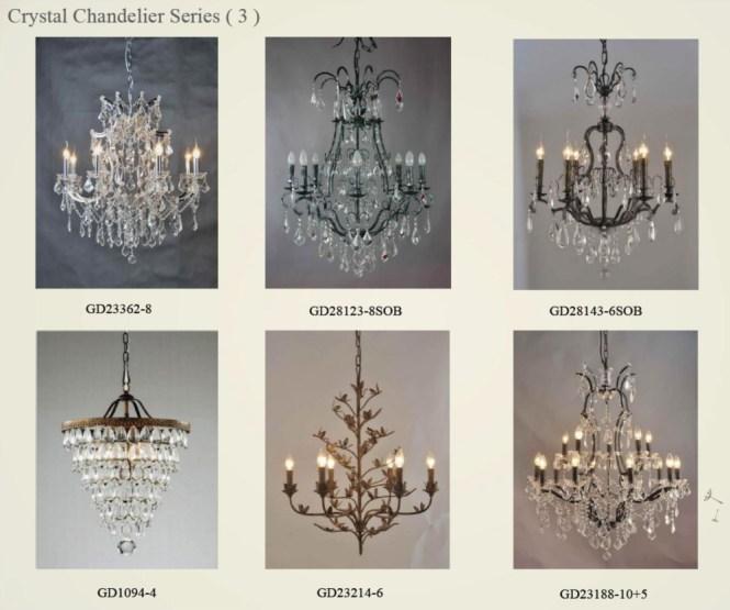 Florian Mercury Glass Chandelier