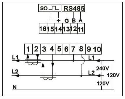 Single phase DIN-Rail Zigbee electric meter power meter