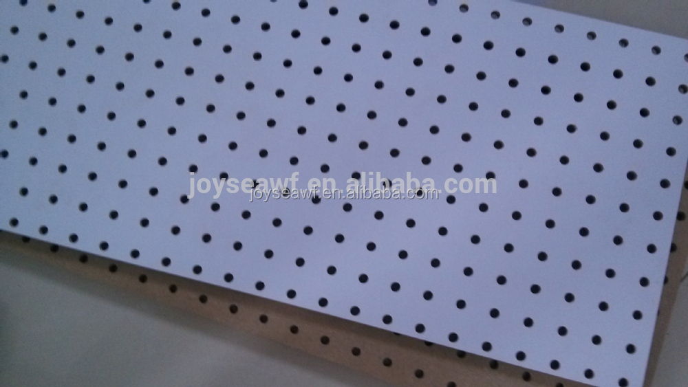 Hole Board Perforated Mdf Wood Wall Boardmelamine And Raw