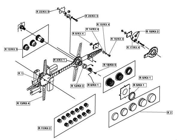 Pw807 Electronic Power Window Motor Conversion Kit,Car