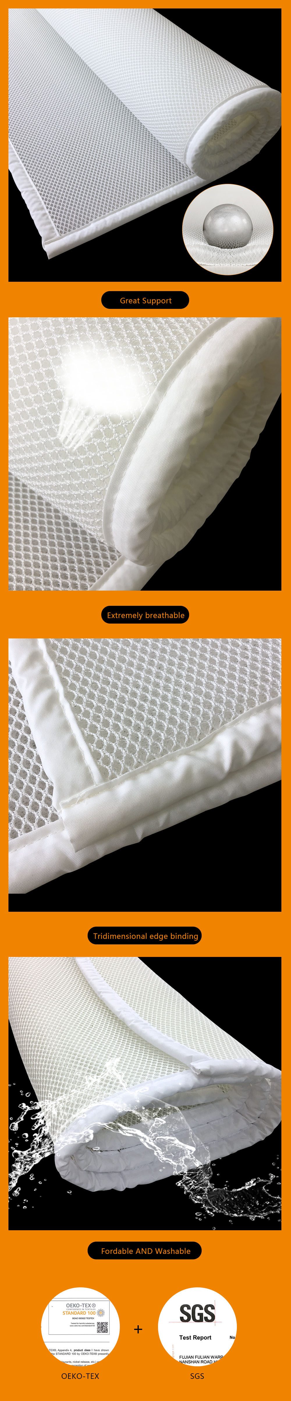 Dünne Matratze China Herstellung Weiß 3d Air Mesh Dünne Matratze Pad,kühle Matratze Pad, Matratze Cooling Pad - Buy Matratze Cooling Pad,kühle Matratze Pad,matratze Pad Product On Alibaba.com