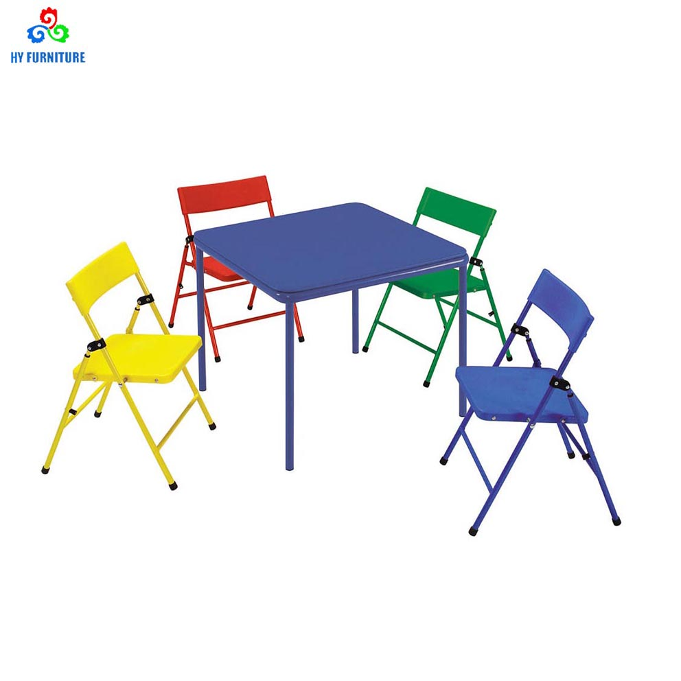 Childrens Folding Table And Chairs Colorful Children Furniture Metal Children S Folding Table And Chairs For Sale Buy Children S Folding Table And Chairs Kids Party Table And