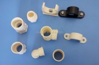 Electrical Plastic Conduit Pipe Fitting Pvc Pipe Clips ...