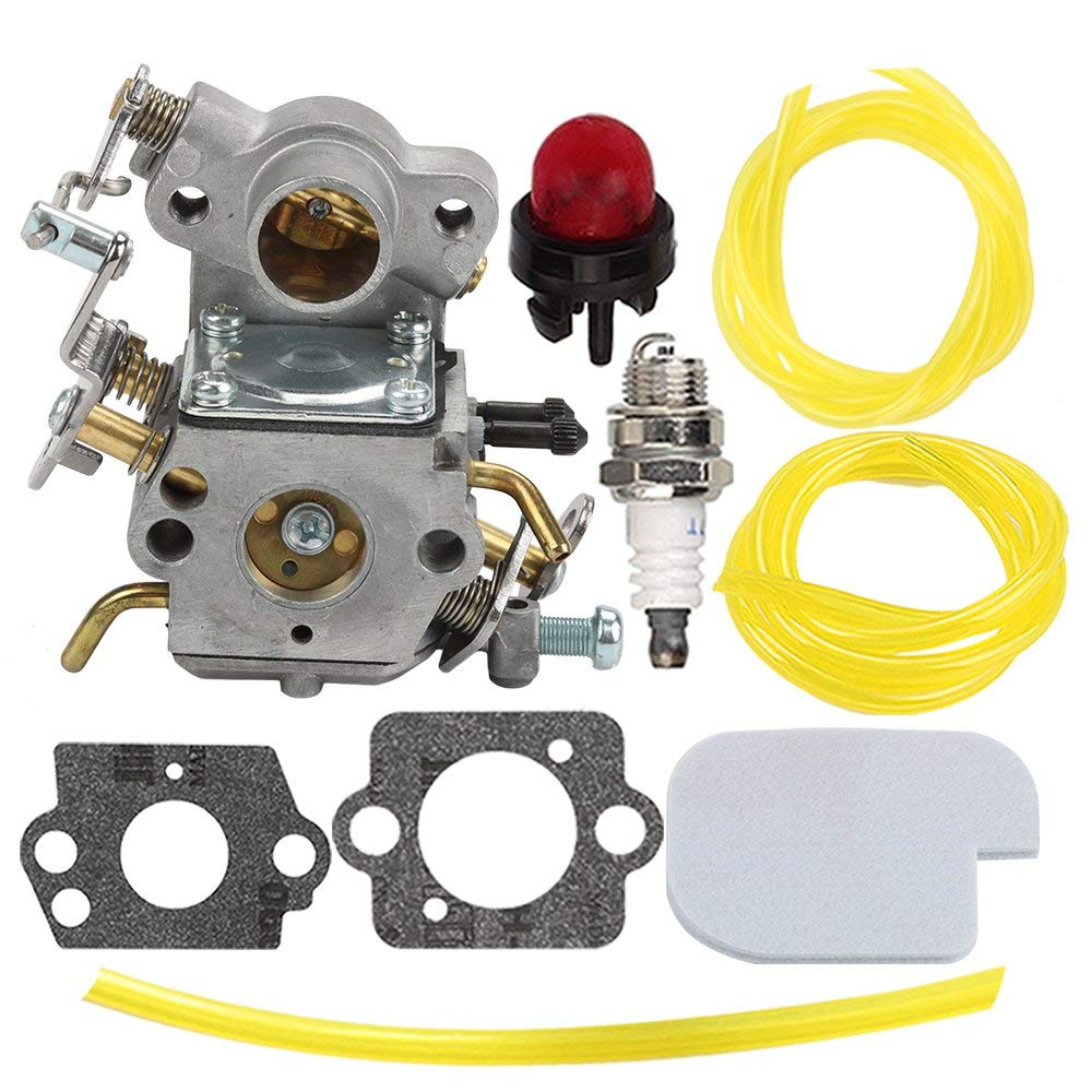 medium resolution of get quotations hilom carburetor with air fuel filter fuel line for poulan craftsman zama c1m w26c 545070601