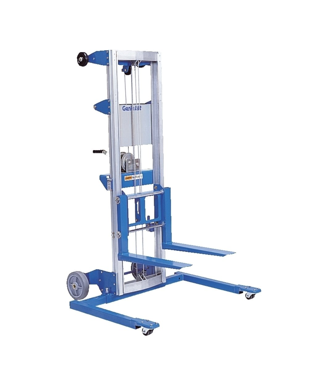 hight resolution of get quotations genie lift gl 10 straddle base heavy duty aluminum manual lift