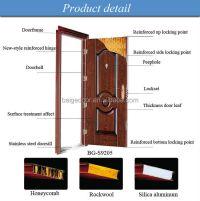 Bg-s9141one And Half Door-leaf Steel Door/steel Door/knock ...